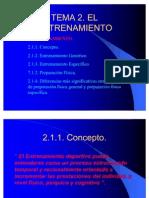 ENTRENAMIENTO DEPORTIVO2007