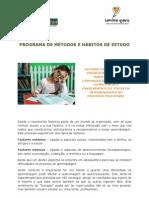 Programa de Métodos e Hábitos de Estudo