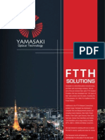 Ftth Solutions Brochure