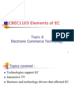 Chap 6 EC Technology