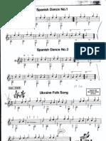 Classical Guitar - Partituras Grado Elementar - 1º LOGSE - 27 Piezas
