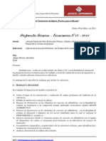 Modelo de Cotizacion N° -03-2011- Evaluacion de Ayabaca