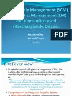 Supply Chain Management Presentation SCM