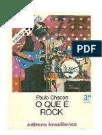 Coleção Primeiros Passos - Paulo Chacon - O Que é Rock