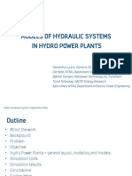 Lucero - Models of Hydro Power Plants