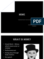 Mime ppt