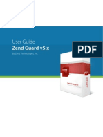 Zend Guard User Guidev5x