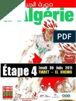 TOUR D ALGERIE - 4e étape CLASSEMENT COMPLET ETAPE 4