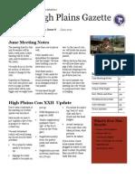 High Plains Gazette Vol 8
