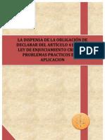 Articulo 416 LeCrim.La Dispensa de la Obligación de Declarar