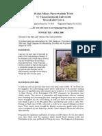 Welsh Mine Preservation Trust Newsletter April 2006