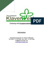 Klaverweide-Infobuch