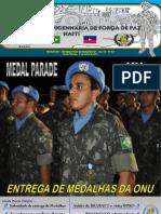 Companhia de Engenharia de Força de Paz – Haiti – Informativo N° 87 da BRAENGCOY