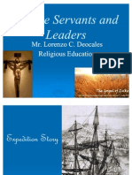 Servant - Leadership by Mr. Lorenzo Deocales