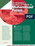 Las empresas sociales y el modelo de Muhammad Yunus - Cristian Bergmann - CONNEXIO 2011