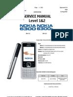 Nokia 6300 Service Manual Doc1