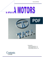Tata Motors - Project