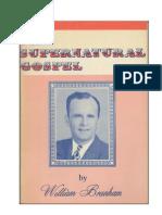 The Supernatural Gospel-William Branham