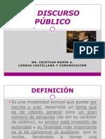 EL DISCURSO PUBLICO