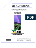 Wood Adhesives Market Opportunity