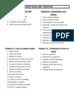 Initiation Excel