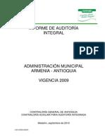 Informe CGA Armenia Ant 2009