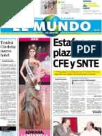 Portada El Mundo de Córdoba 2 de julio de 2011
