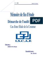 Démarche de l_audit financier  cas d_une filiale de la Cosumar