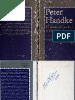 El miedo del portero al penalty (1979) - Peter Handke