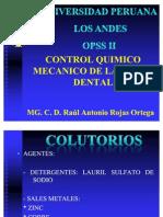 Temas de OPSS :1/7/11  Control Qx Mec Placa.