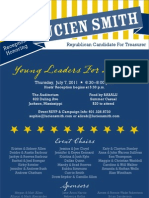 Young Leaders Invitation- Lucien Smith