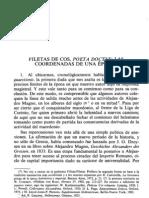 Filetas de Cos. Elegía helenística.CALDERÓN DORDA, E. A. (1988)