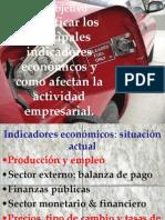 Indicadore economicos Ecuador