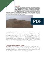 Pachacamac y La Cultura Lima