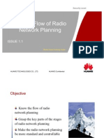 OG 002 Service Flow of Radio Network Planning ISSUE1.1