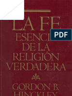 La Fe Esencia de La Religion Verdadera