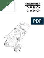 Karcher G3050 Pressure Washer Manual