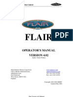Mark Roberts Motion Control FLAIR MANUAL