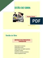 Gestão OBRA - INTRO