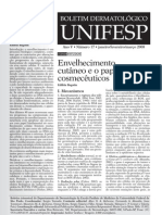 Envelhecimento_cutaneo - Boletim Dermatologico - Unifesp