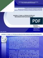 Grupo D Modelo de Produccion de Recursos Instruccionales