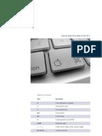 Guia de Atajos en Mac OS X