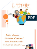 Disertacion de Los Titeres[1]