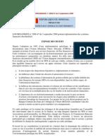 Nouvelle Réglementation SFD au Sénégal