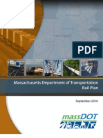 Mass DOT Rail Plan Sept. 2010