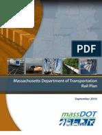 Mass DOT Rail Plan Sept. 2010