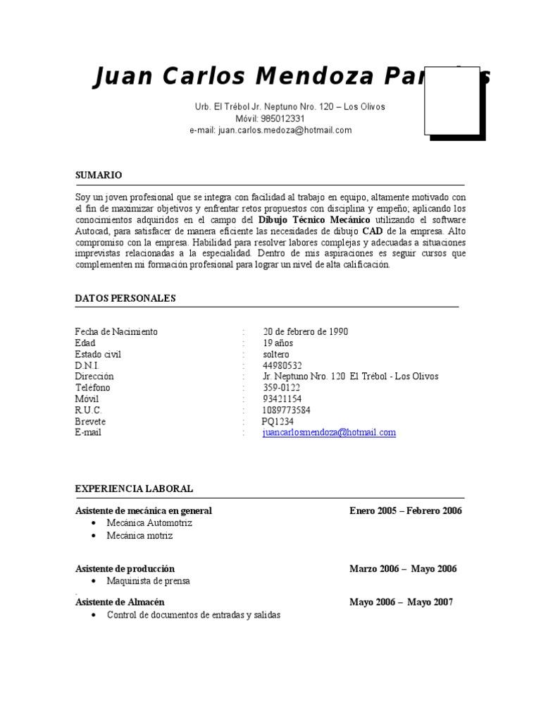 Snap Encantador Esteticista Reanudar Muestra Patrón Colección De ...