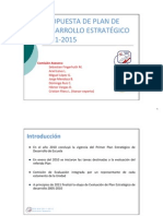 BORRADOR PDE EIE 2011-2015
