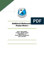Add Math's Project 2011