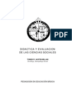 Austin Millan Tomas - Didactica Y Evaluacion de Las Ciencias Sociales